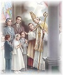 gambar sakramen Krisma