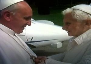 Paus Fransiskus dan Benediktus XVI